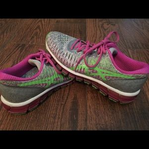 ASICS women's Gel-Quantum running shoes!